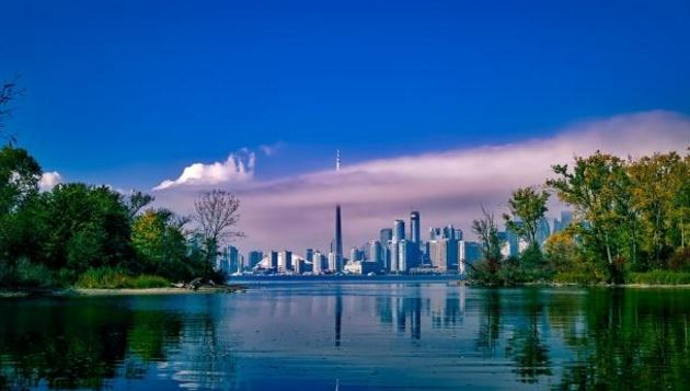 Toronto is a city in Northern America, specifically Canada
