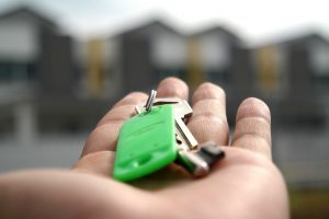 Key in a hand when you are searching house after relocating to Pittsburgh