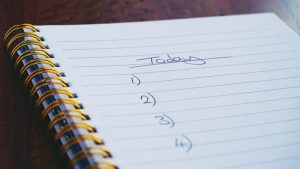 Grab a notebook and make a checklist of what would you like to place in the storage facility?