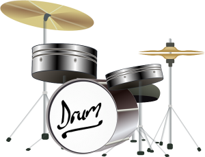 A picture of drums.