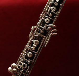 A black oboe.
