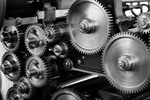 Some gears.
