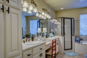 Attractive and clean bathroom will add value to your home