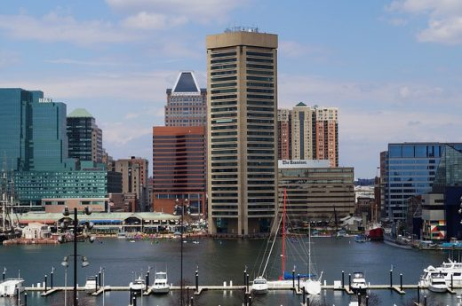 Baltimore as one of the best cities in Maryland for young families