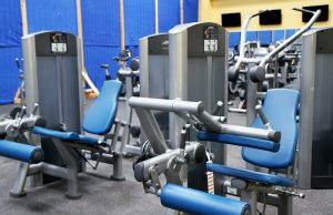 Prepare exercise equipment for moving, such as the one on this picture, so that you avoid damages.