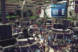 New Your City stock exchange.