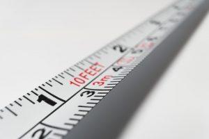 A measurement.