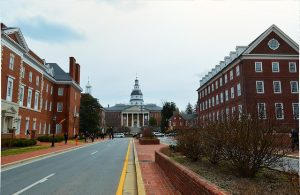 A street in Annapolis.