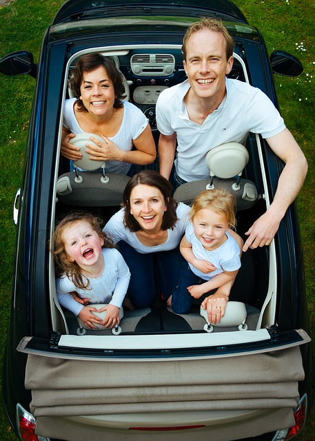 Large family - One of the best tips for moving with a large family is working together.