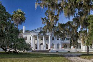 Plum Orchard mansion.