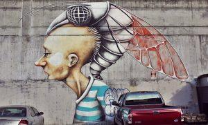 Street art in Austin.