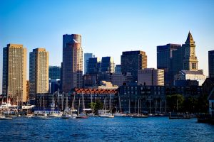A view of Boston.
