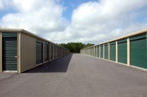Storage warehouses.  where you can keep your items while you clean your new Texas home.