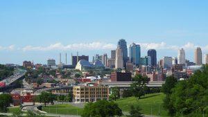 A view of Kansas City.