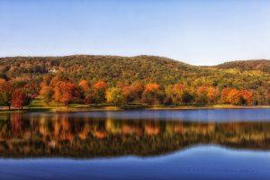 Connecticut landscape.