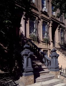 An old style building in Gramercy Park.