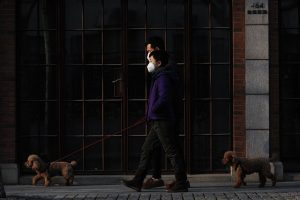 Walk Dog Mask - Tips for meeting new neighbors during the covid-19 outbreak