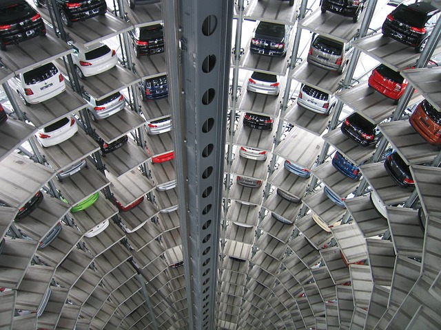 The futuristic storage facility where you can find the right storage unit for your vehicle.
