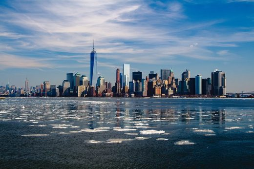 New York City skyline, symbolizing where to move this fall - New York City edition.