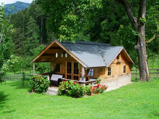 A small house you should consider when downsizing to a smaller home.