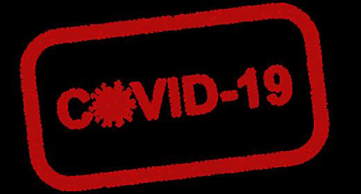 Covid-19 logo.