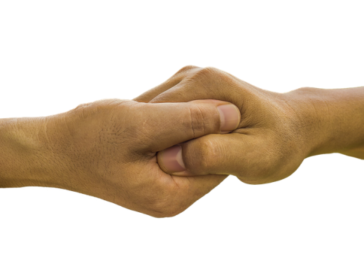 A hand in hand, a help that's necessary if you want to speed up your Hong Kong relocation.