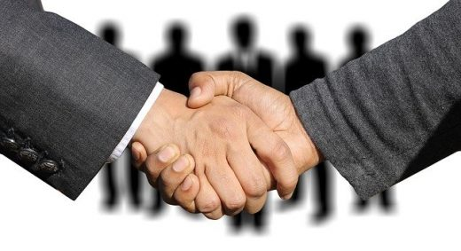 A handshake deal, a result to hope for when you negotiate with interstate movers