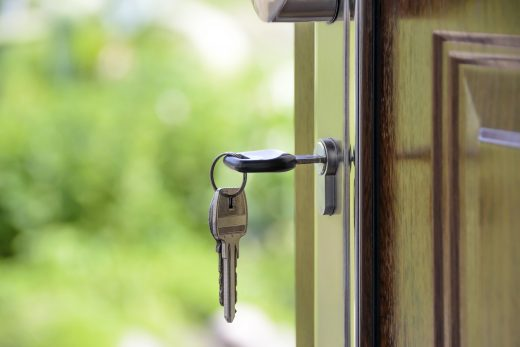 A key in the lock of an open door you will get when you conduct a purchase after studying the Gramercy Park real estate trends.