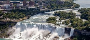 Landscape of Niagra Falls as one of the reasons why Ontario is the best province for young adults.