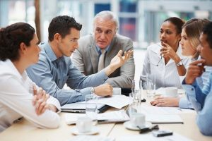 Business meeting - Organize it and notify your employees about moving your business to Queens.