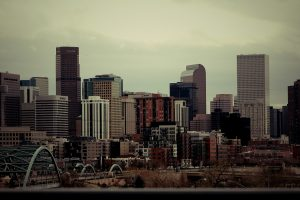 The view of Denver, one fo the cities that are suitable if you are looking to buy a second house.
