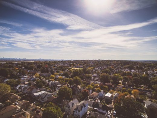 A view of one of New Jersey cities best for families with small children