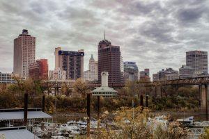 City view of Memphis, TN