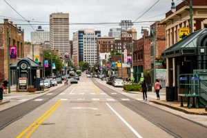 A street in Memphis, TN
