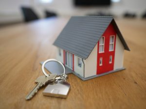 A key chain for the keys of your new home once you find something appropriate among real estate trends in Maryland.