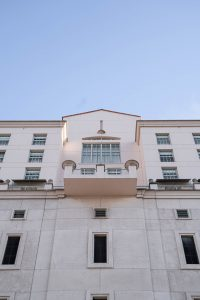 A building as one of the many you might inspect when buying a property in Coral Gables.