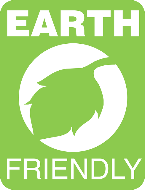 Earth friendly sign.