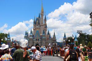 Disney in Orlando.