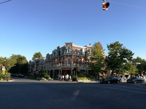 Niagara-on-the-lake is for sure one of the most charming Ontario towns that will take your breath away.